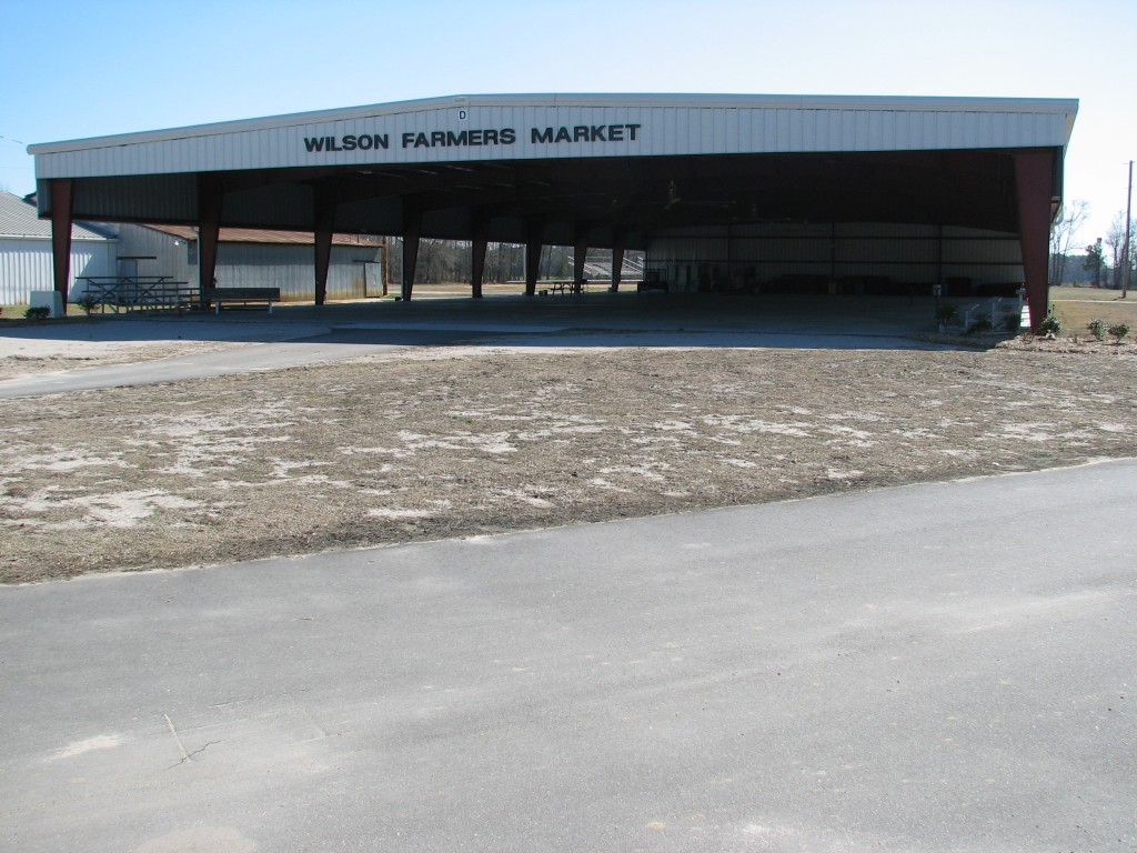 Front of Farmers Market