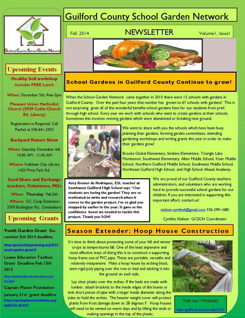 SGN Newsletter