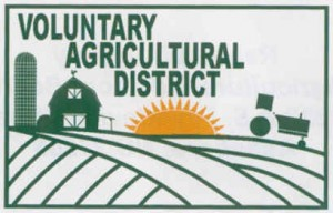 Voluntary Agricultural District Sign