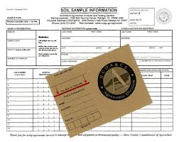 Soil sample form and box