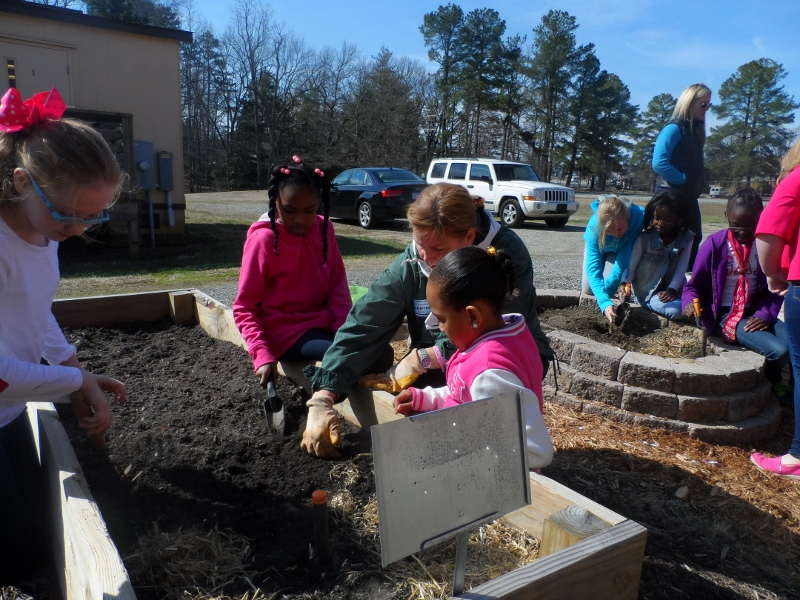 Our Guilford County School Gardens North Carolina Cooperative Extension