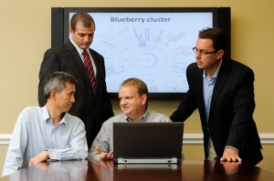 Meeting to discuss blueberry sequencing project