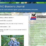 The N.C. Blueberry Journal screen shot
