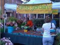 Farmer's Market strawberry sales