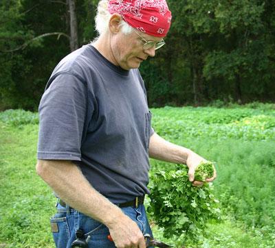 Bill Dow of Ayrshire Farm