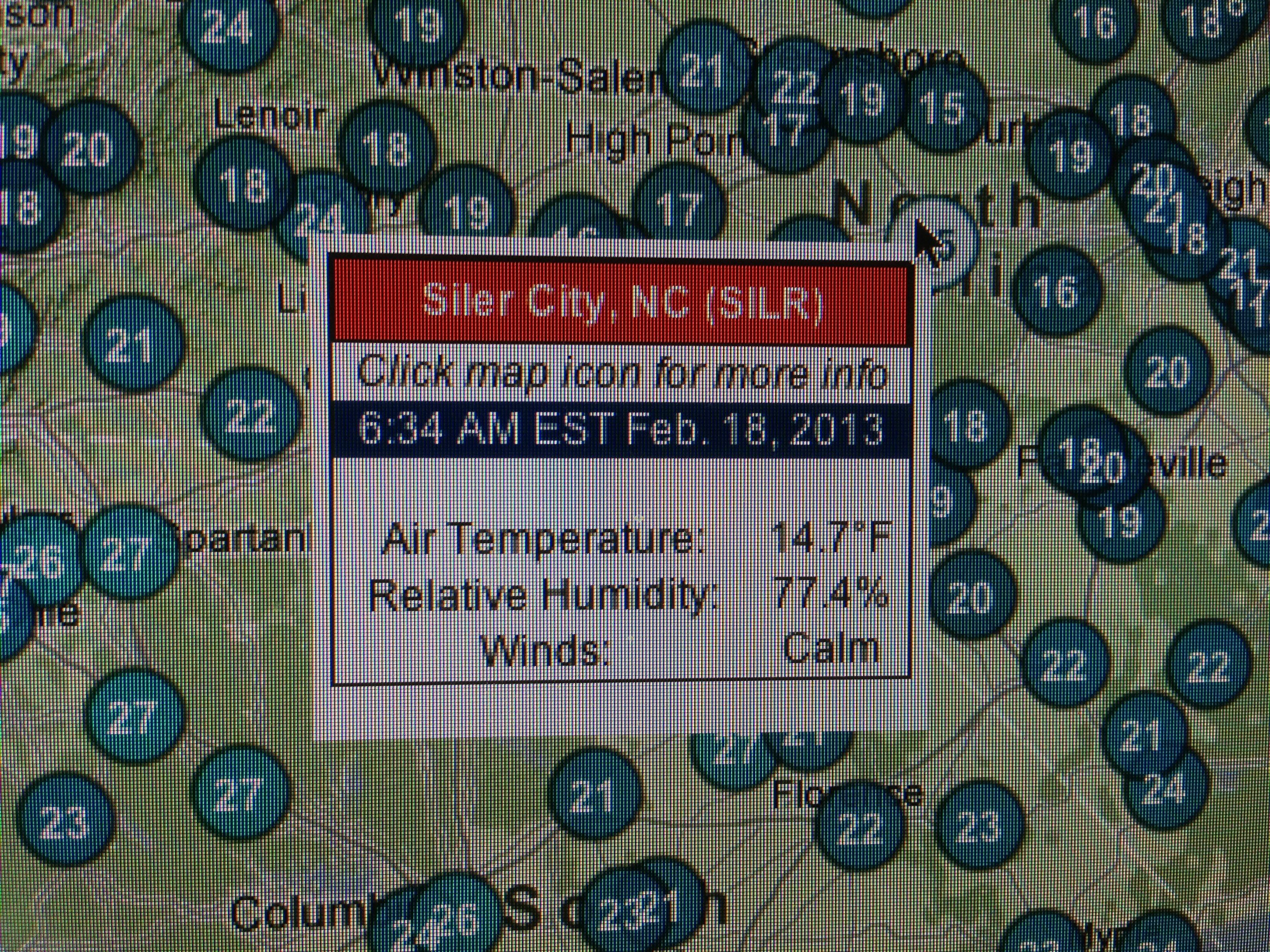 Report On 2 17 13 2 18 13 Freeze Event Nc State Extension