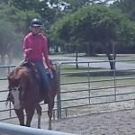 Rider at the RC