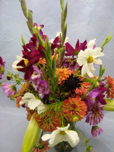Bouquet of NCSU grown cut flowers