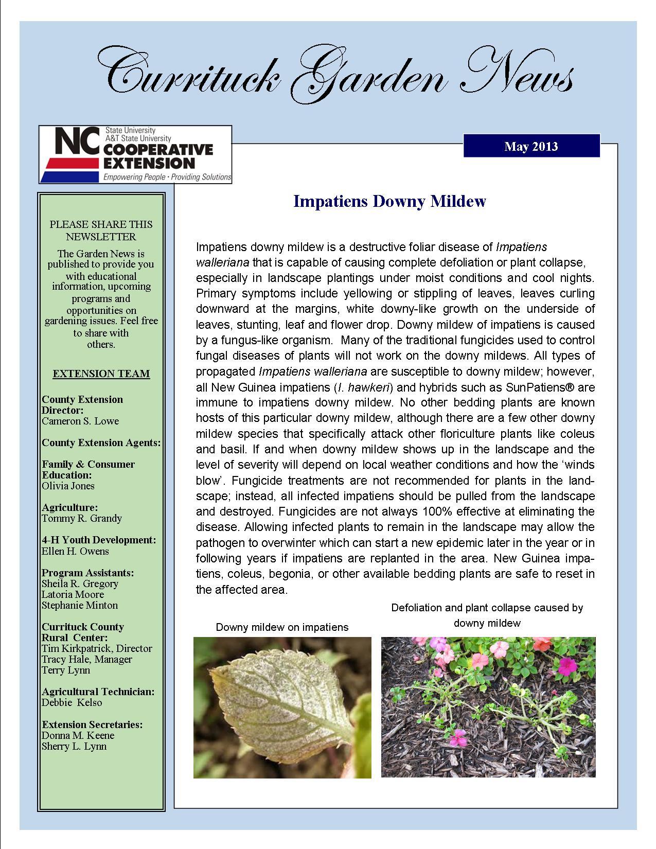 Garden News May  2013