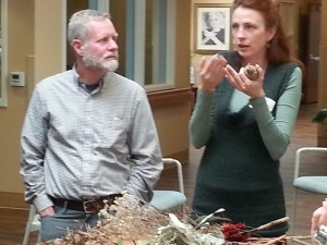 Horticulture Therapists John Murphy and Heather Kelejian
