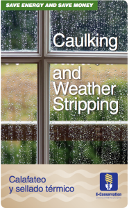 Caulking and Weather Stripping