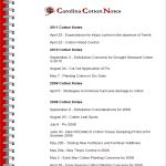 carolina cotton notes