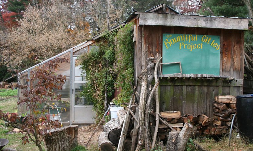 Bountiful Cities Project garden shed