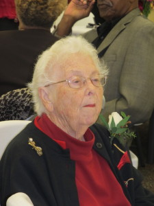 Dot Wilkinson served as Granville County home demonstration agent from 1944 to 1977.