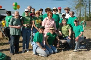 Group photo of community gardeners