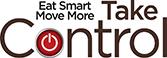 Eat Smart Move More Take Control Logo