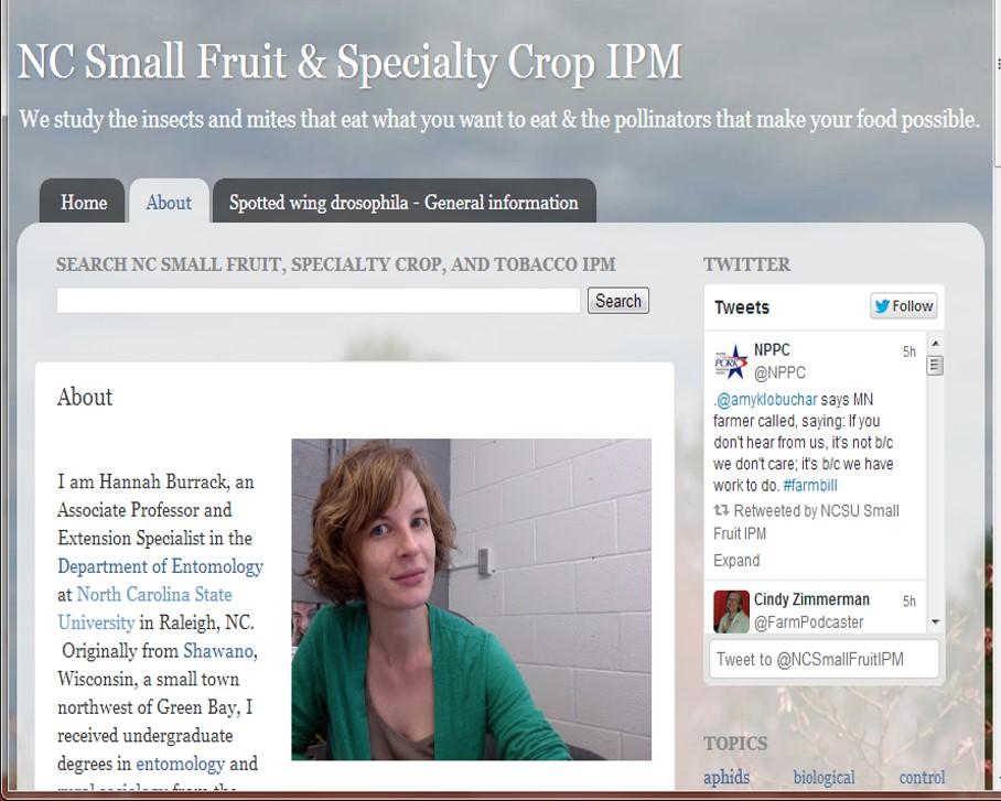 NCSU Small Fruit IPM