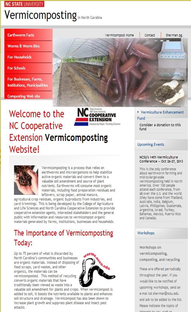 NCSU Vermicomposting