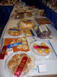 Baked goods show off ribbons at Duplin fair