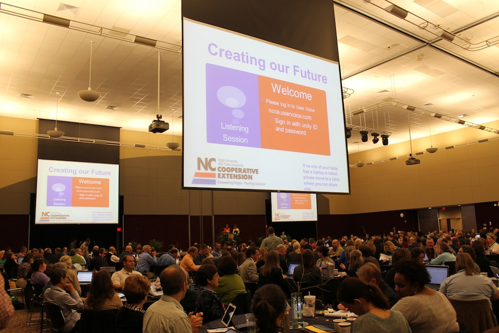 NC Cooperative Extension Service_Conference Listening Session_11-6-13