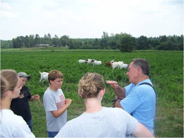 Farmer advises youth on goat production