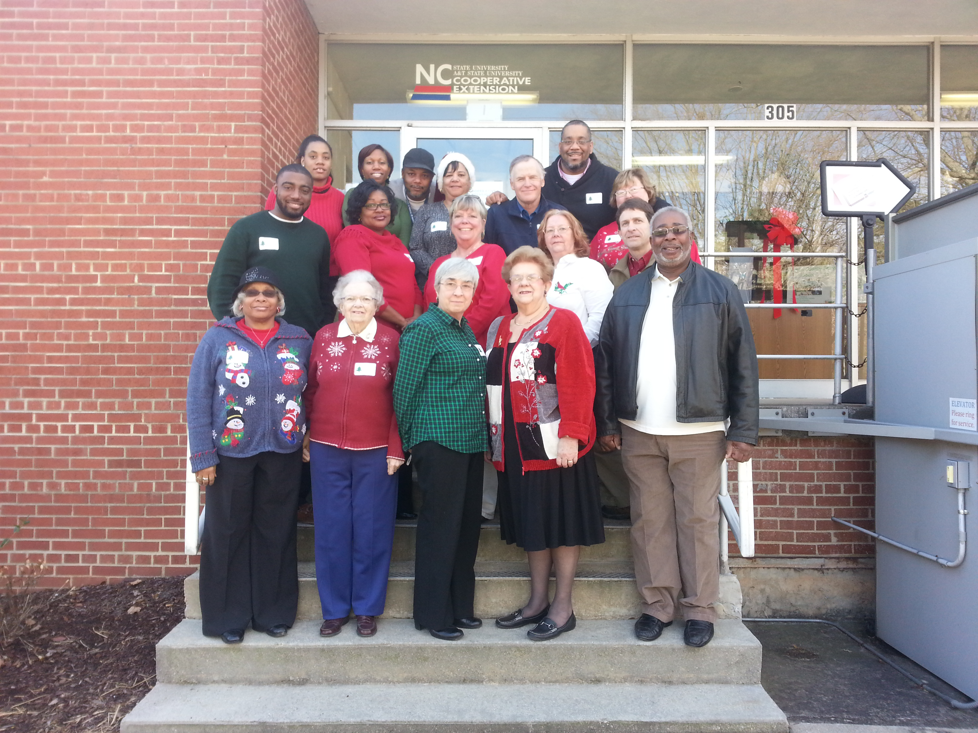 Extension staff & retirees