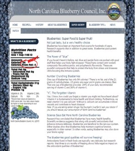 NC Blueberry Council