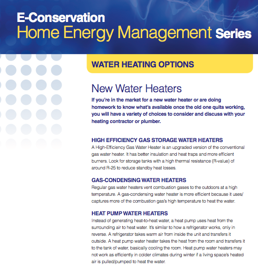New Water Heaters image