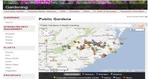 Public Gardens Portal