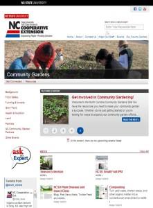 community garden website