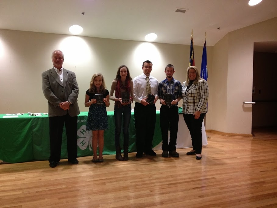 2013 4-H'ers of the Year