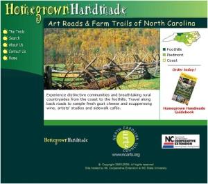 Homegrown Handmade Website