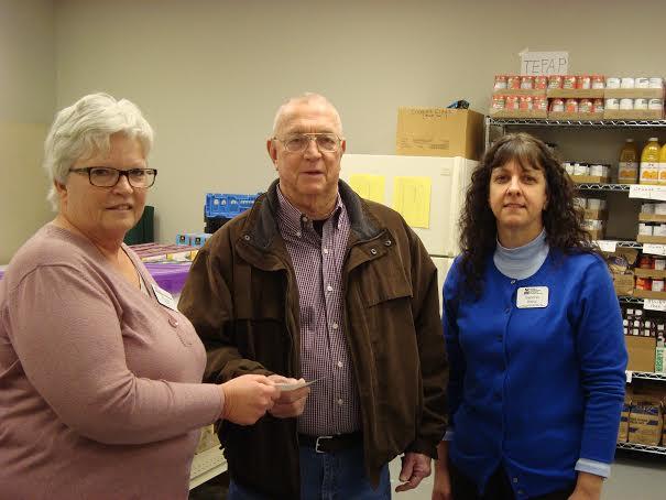 MG Donation Food Pantry 2014