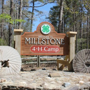 Millstone sign