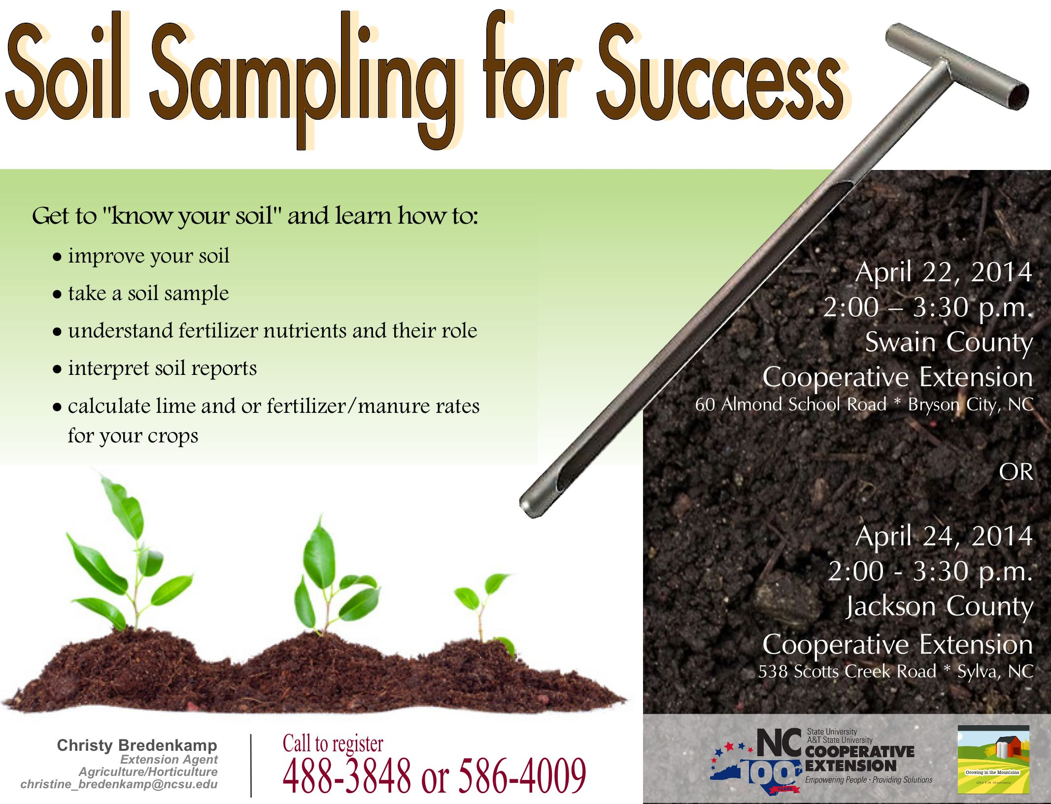 Pin horticulture 100 whiting flashcards interior plant for Soil sampling