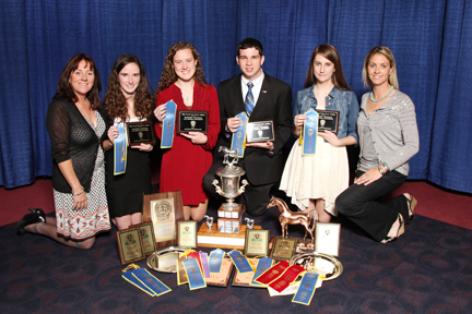 2013 Horse Judging Overall Champion Team
