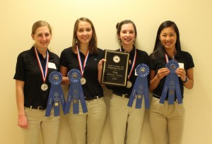 Champion Senior Hippology Team- Chatham County