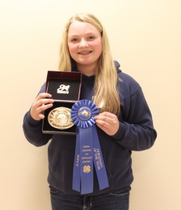 Junior Horseman of the Year- Abby Holsomback, Granville County