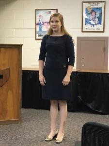 Kaitlyn Johnson (Duplin) 3rd place Public Speaking