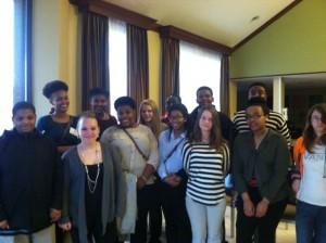 Northampton County 4-H Teen Retreat delegates 2014