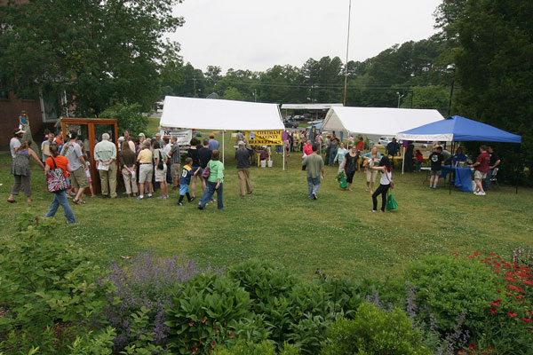 Pollinator Day celebration at Chatham Mills