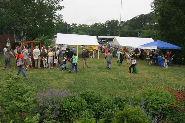 Pollinator Day celebration at Chatham Mills