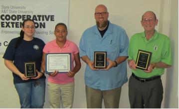 2014 Volunteer Award Winners