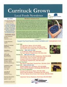 Currituck Grown Local Foods News June 2014