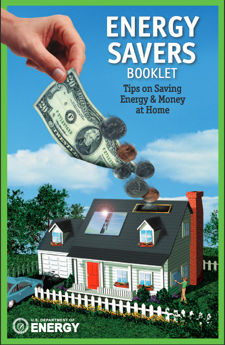 Energy Savers Booklet - Tips on Saving Energy & Money at Home