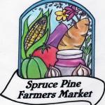 spruce pine farmers market logo