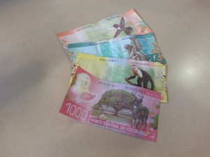 Costa Rican Money - Colones