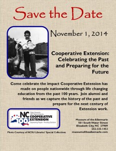Celebrating 100 years in extension north carolina cooperative formal invitation will follow save the date save the date november 1 stopboris Image collections