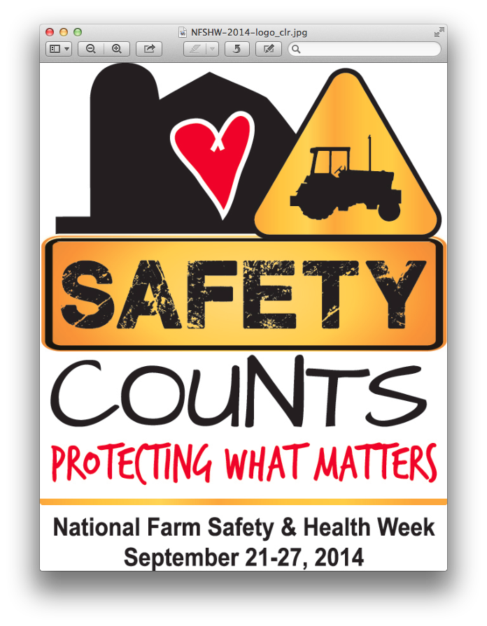 Farm Safety & Health Week Logo