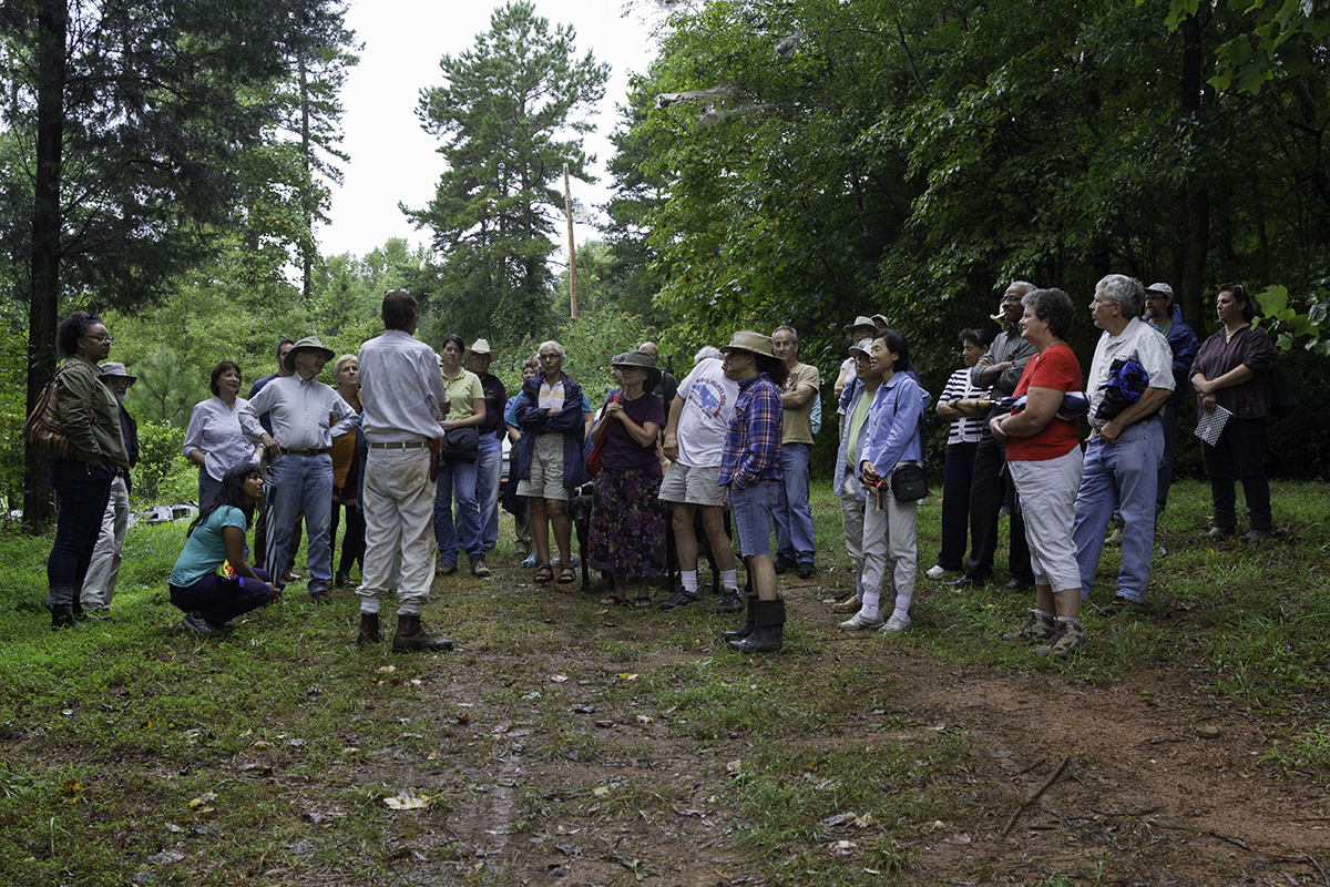 We had about 50 folks turn out for the show and tell to learn about pawpaw production.